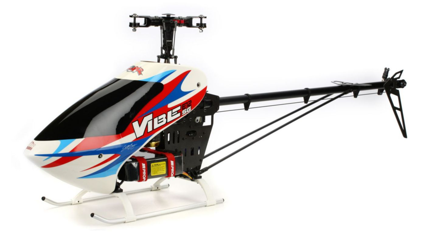 Image for Vibe 90SG E12 Flybarless Elec Heli Kit from HorizonHobby