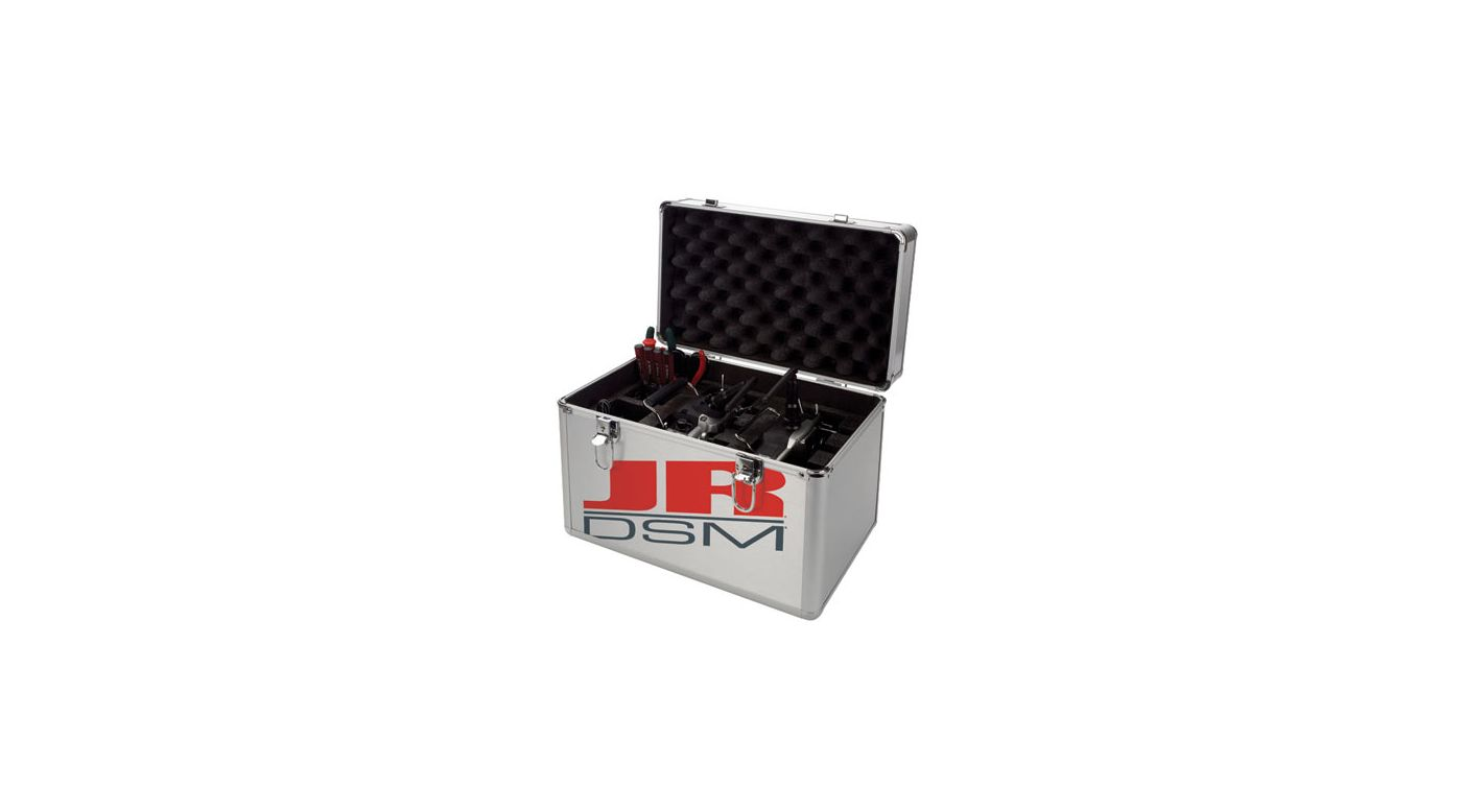 Image for JR DSM Double Pro Transmitter Case from HorizonHobby