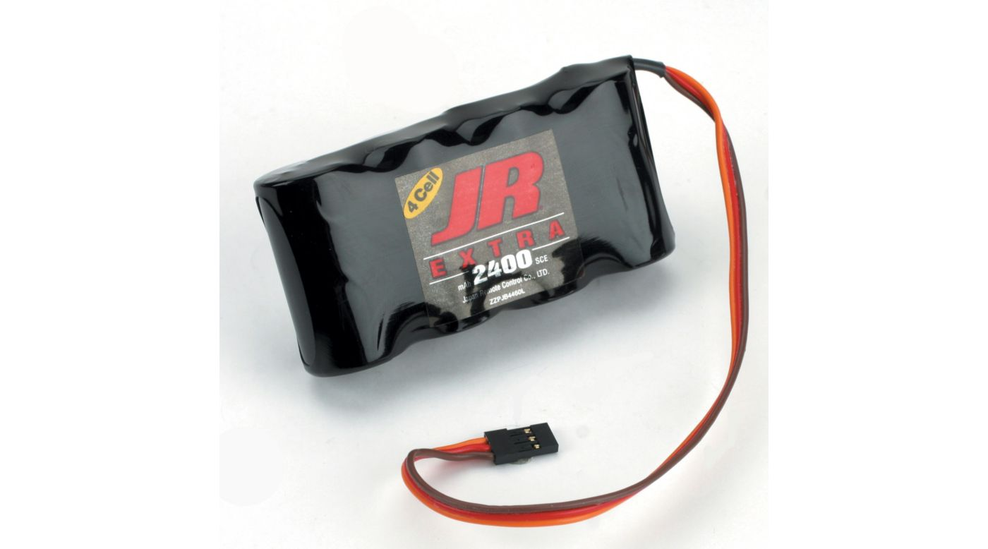 Image for Extra Receiver Pack 2500mAh 4.8v NiCd Flat from HorizonHobby