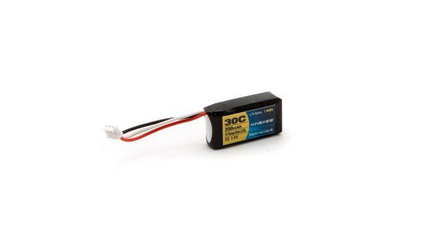 Kinexsis 7.4V 200mAh 30C 2S LiPo Battery: UMX, KXSB0002