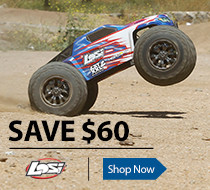 Save $60 on the Losi LST XXL2-E RTR Electric Monster Truck
