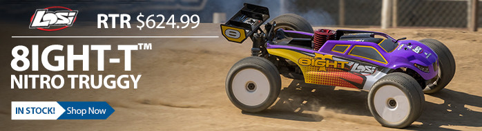 Losi 8IGHT-T Buggy Nitro RTR Spektrum