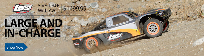 Losi 5IVE-T RTR Ready-To-Run AVC Active Vehicle Control SCT Short Course Truck