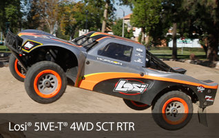 Losi 1/5 5IVE-T 4WD SCT RTR with AVC Technology