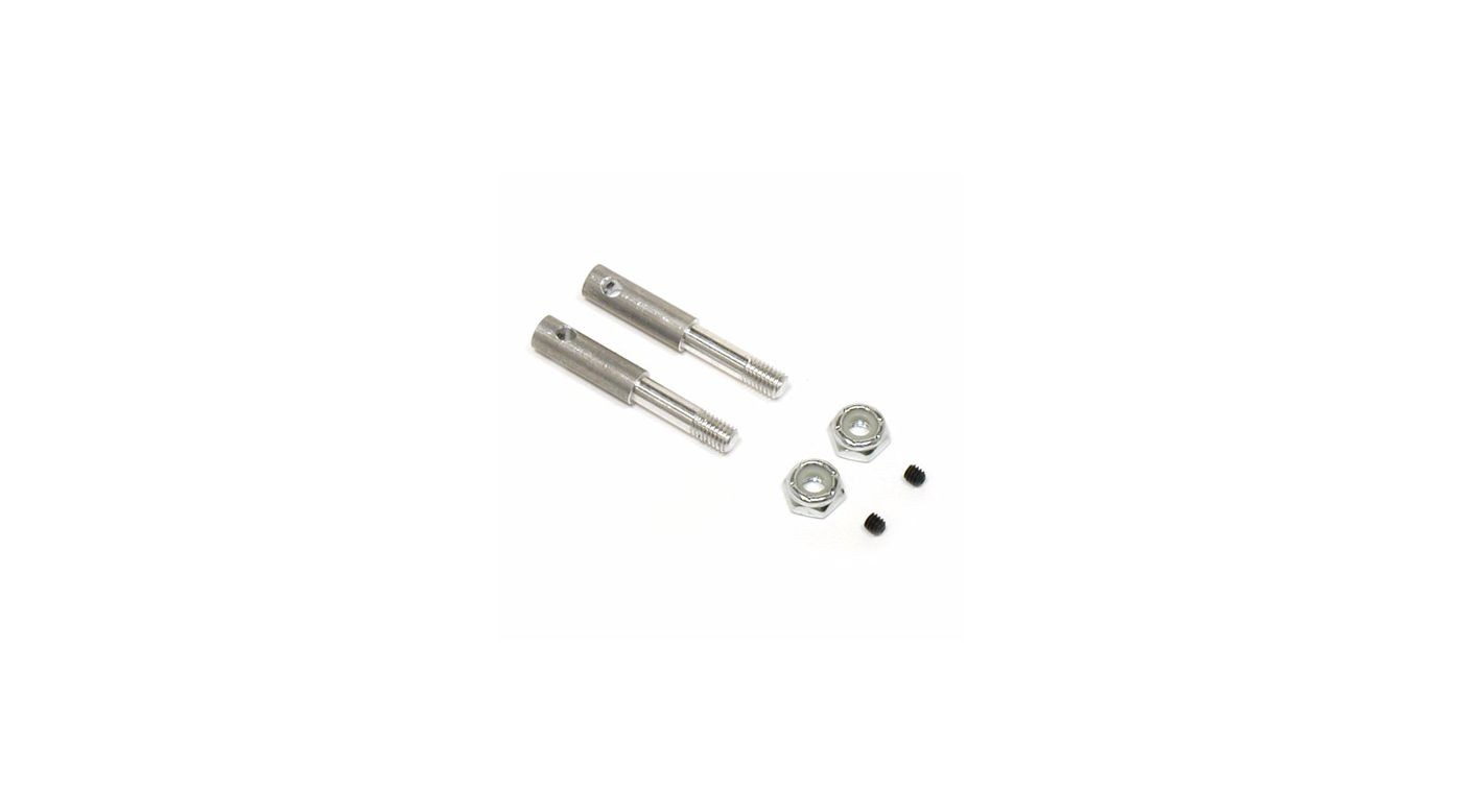 Image for Front Axles: NXT, GTX, XXX-NT, NXT, GTX, SPT,SNT from HorizonHobby