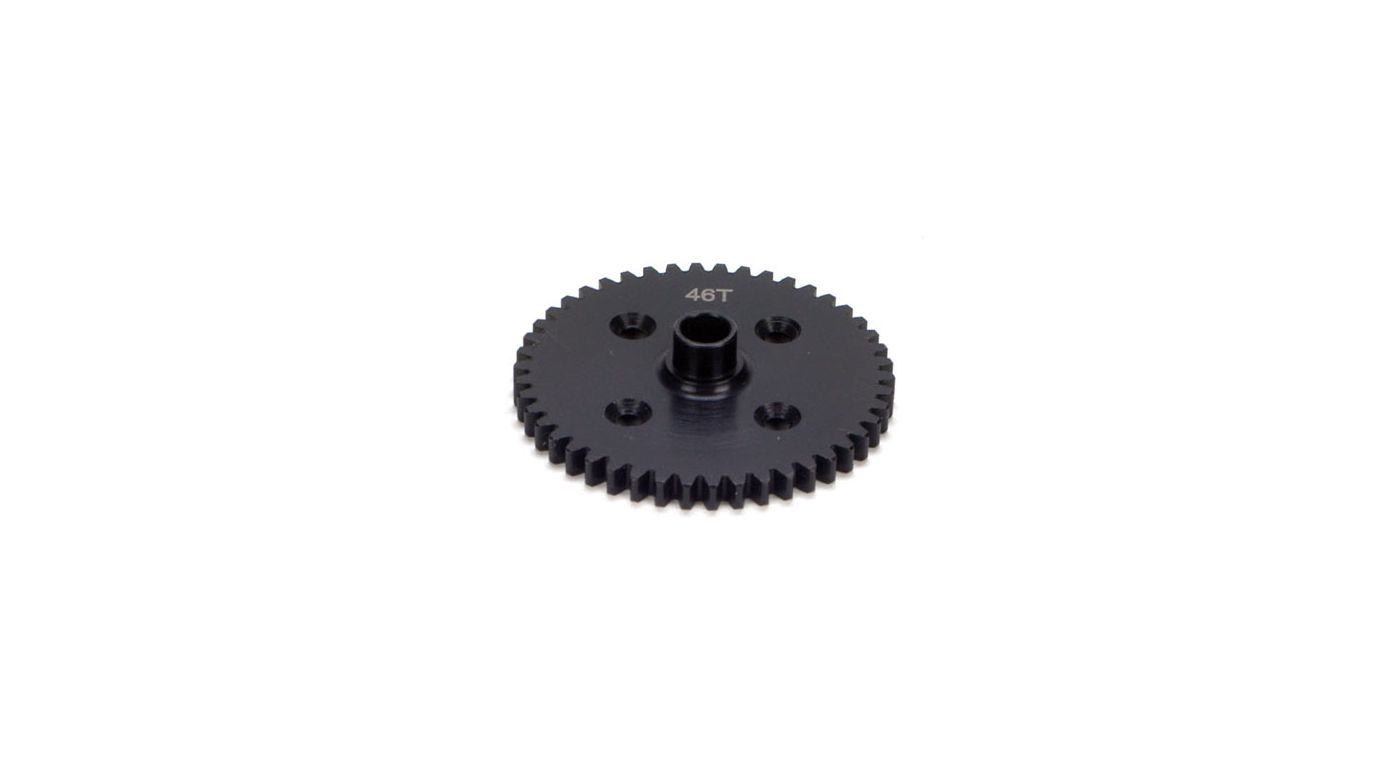 Image for Center Diff 46T Spur Gear, Steel: 8B/8T from HorizonHobby