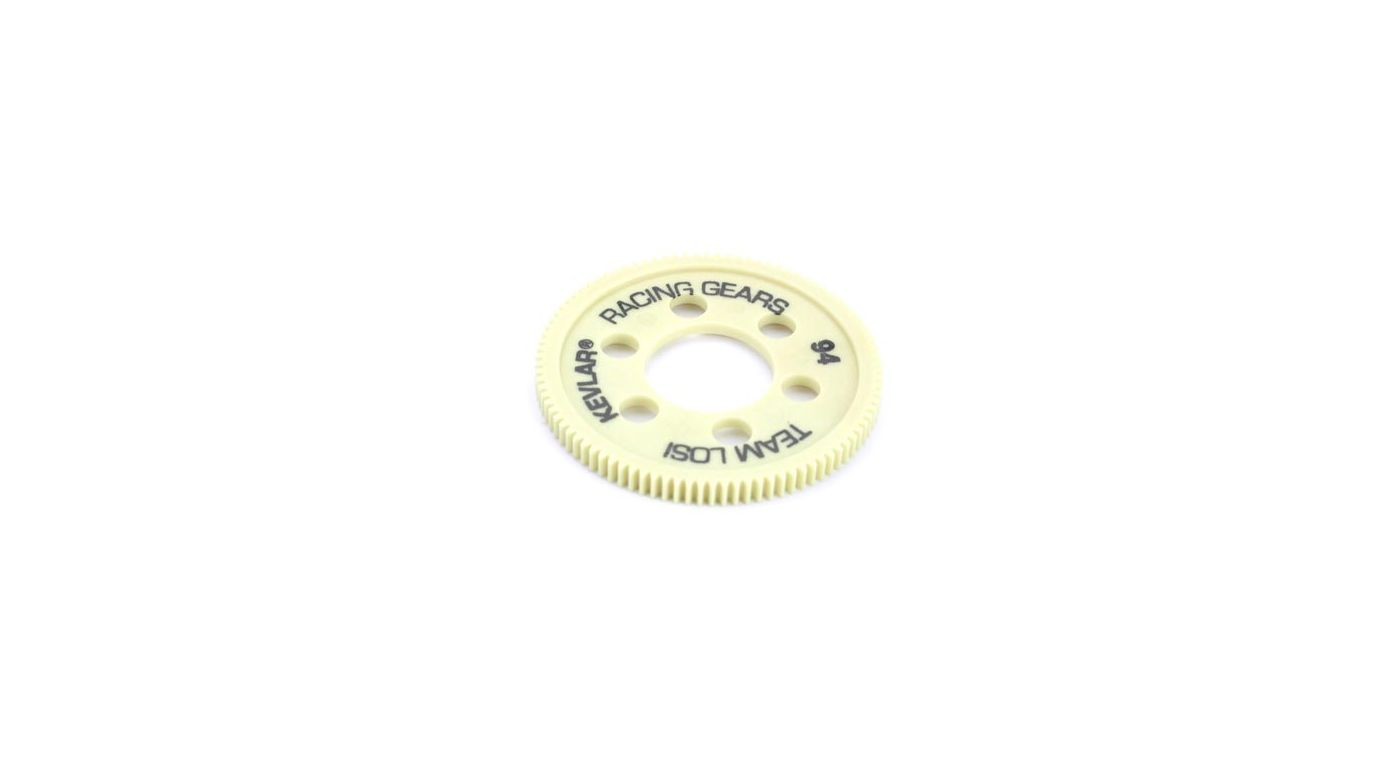 Image for 48P Kevlar Spur Slipper, 94T: XXX4 from HorizonHobby