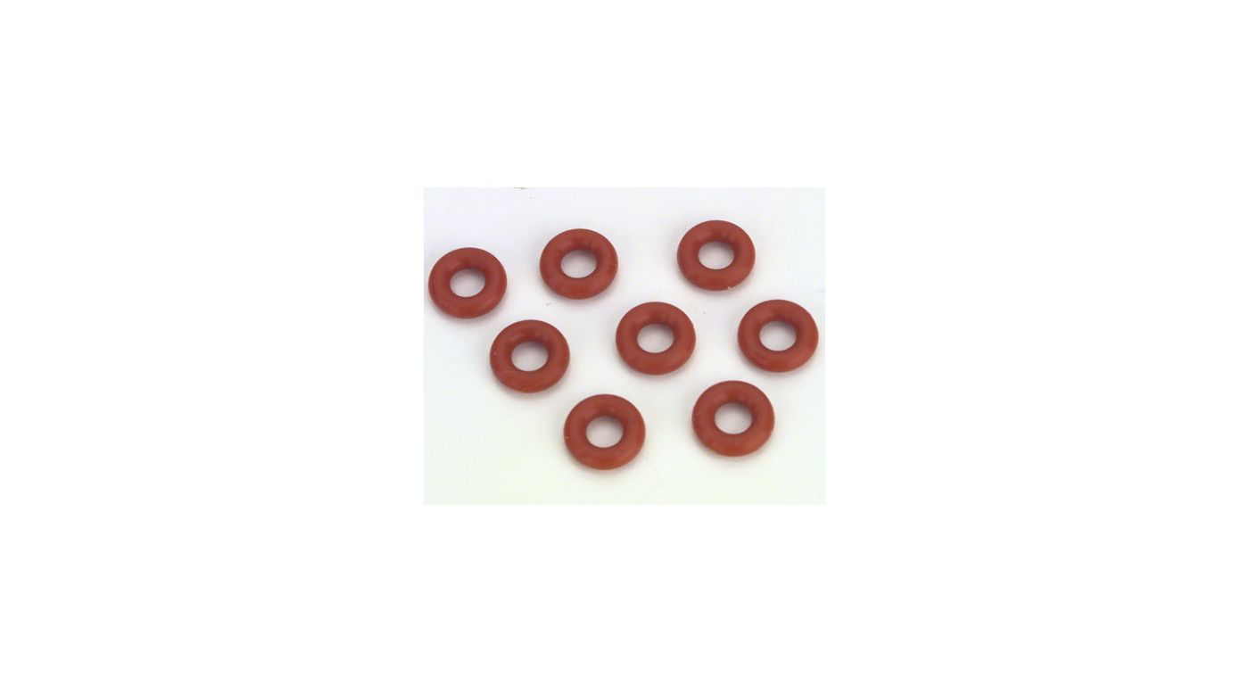 Image for O-Rings For Shock Cartridge (8) from HorizonHobby
