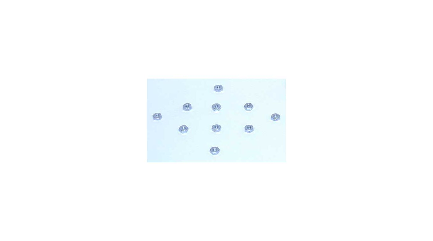 Image for 4-40 Hex Nuts (10) from HorizonHobby