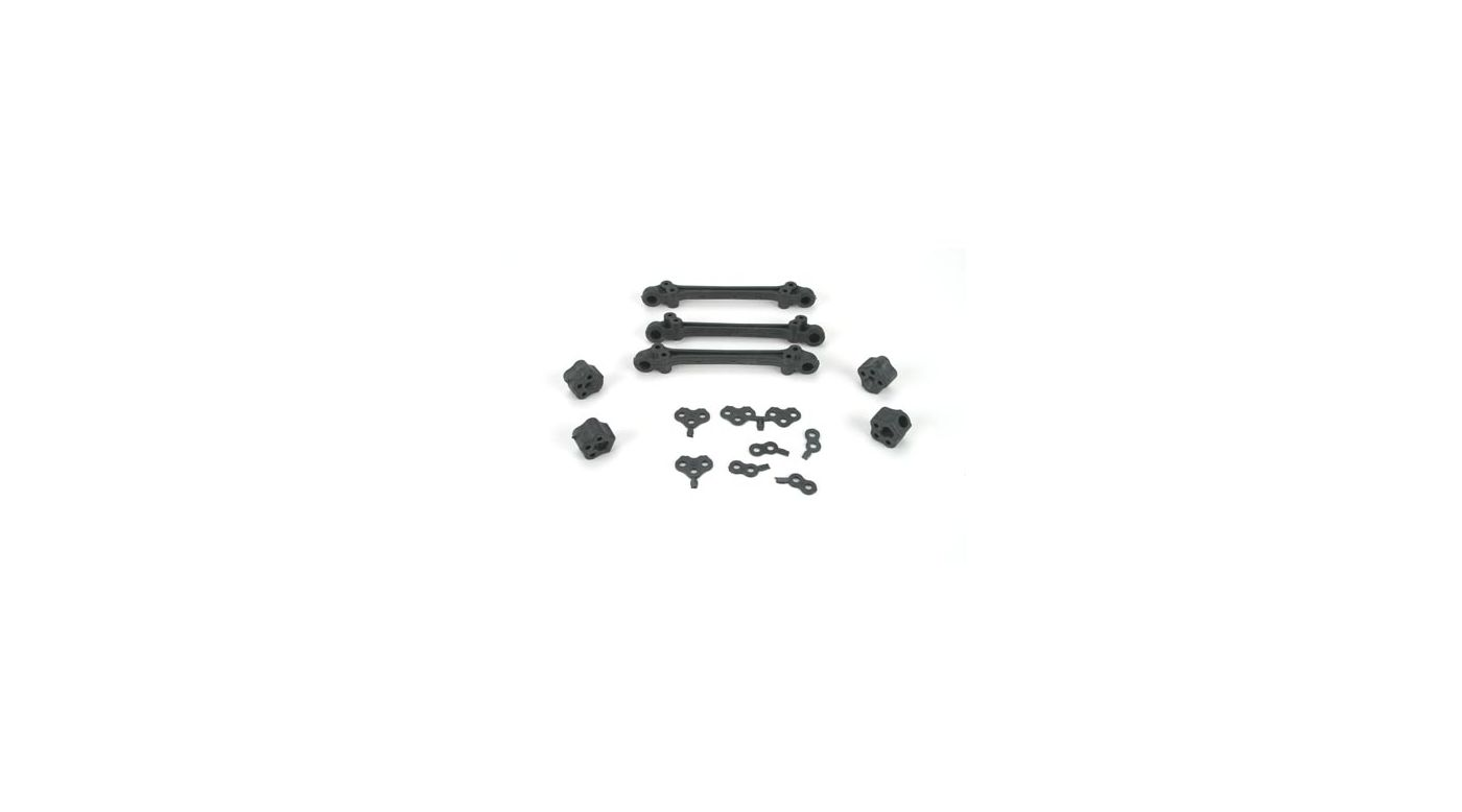Image for Pivot Mount & Shim Set(3):JRX-S from HorizonHobby
