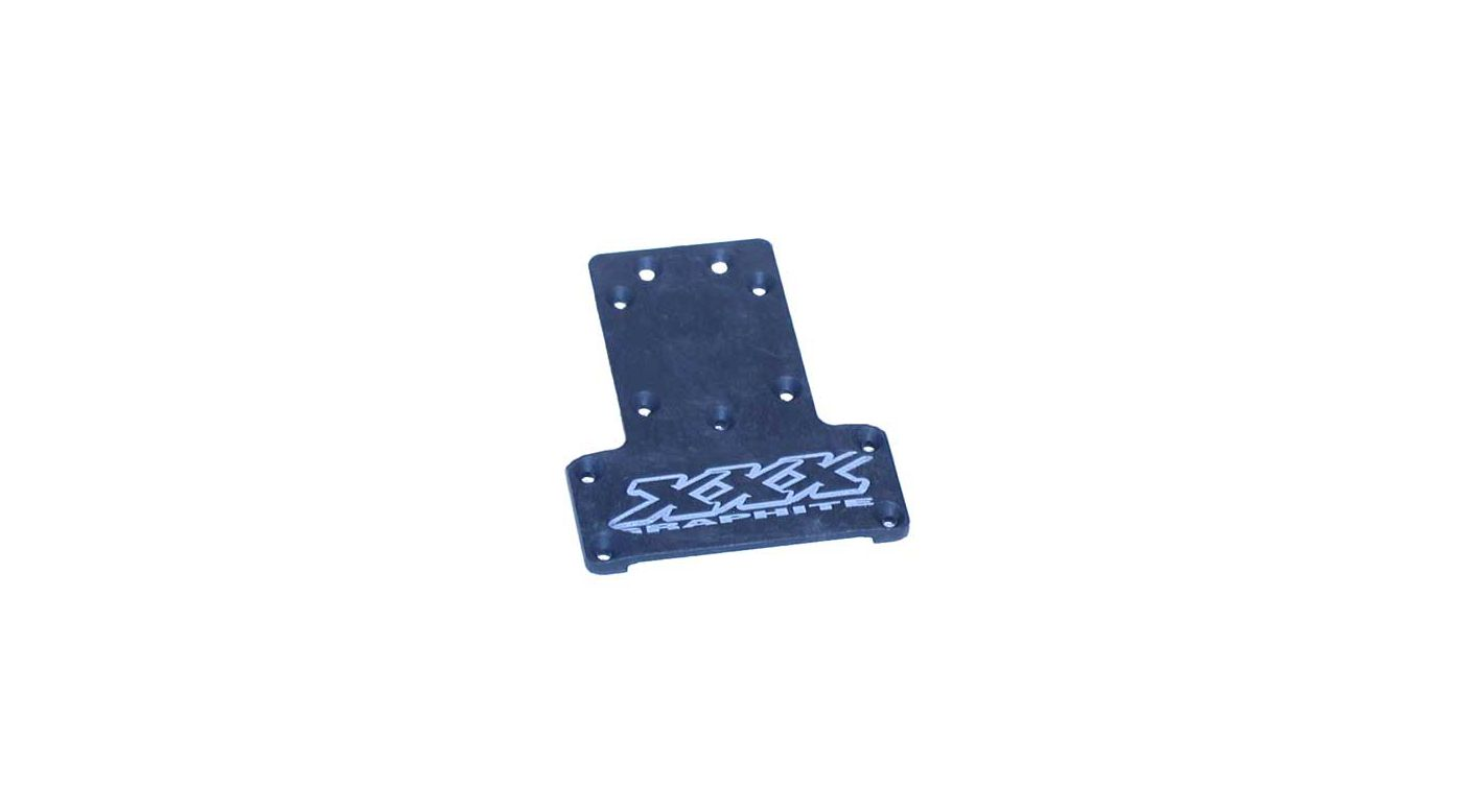 Image for Graphite Rear Pivot Plate: XXX, XXX-T, SPT from HorizonHobby