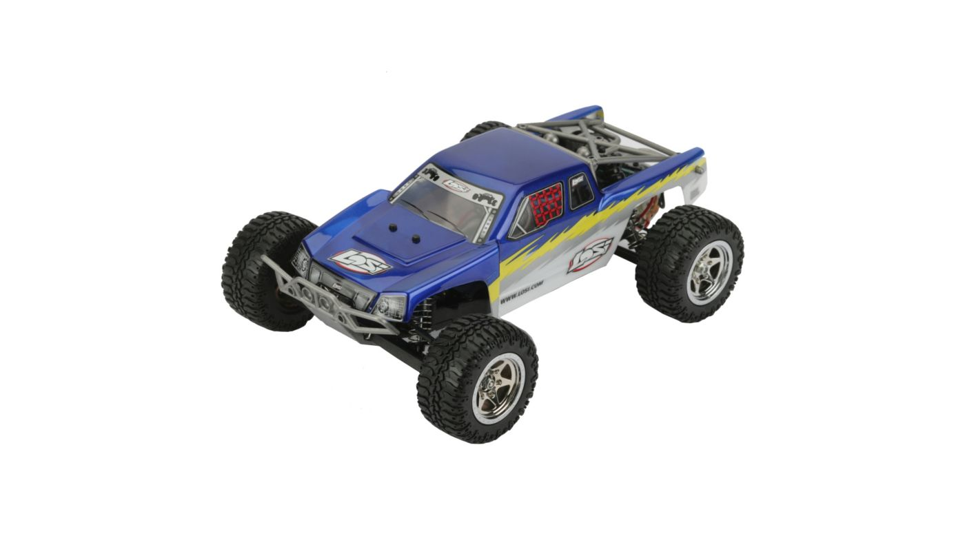 Image for 1/18 Mini-Desert Truck RTR, Blue from HorizonHobby