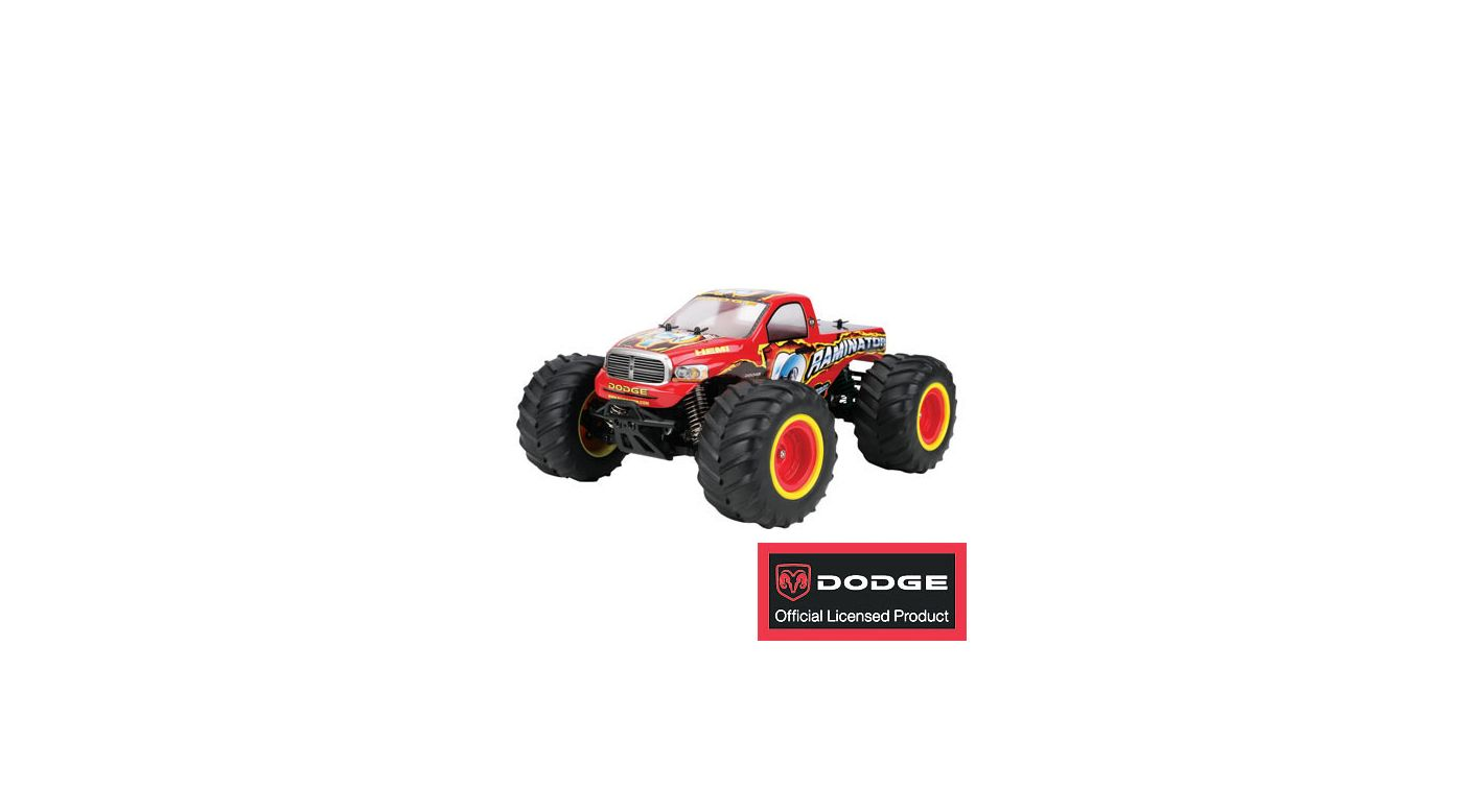 Image for 1/18 Raminator Monster Truck RTR from HorizonHobby