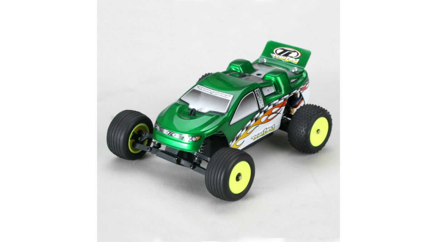 Image for 1/36 Micro-T Stadium Truck RTR Green from HorizonHobby