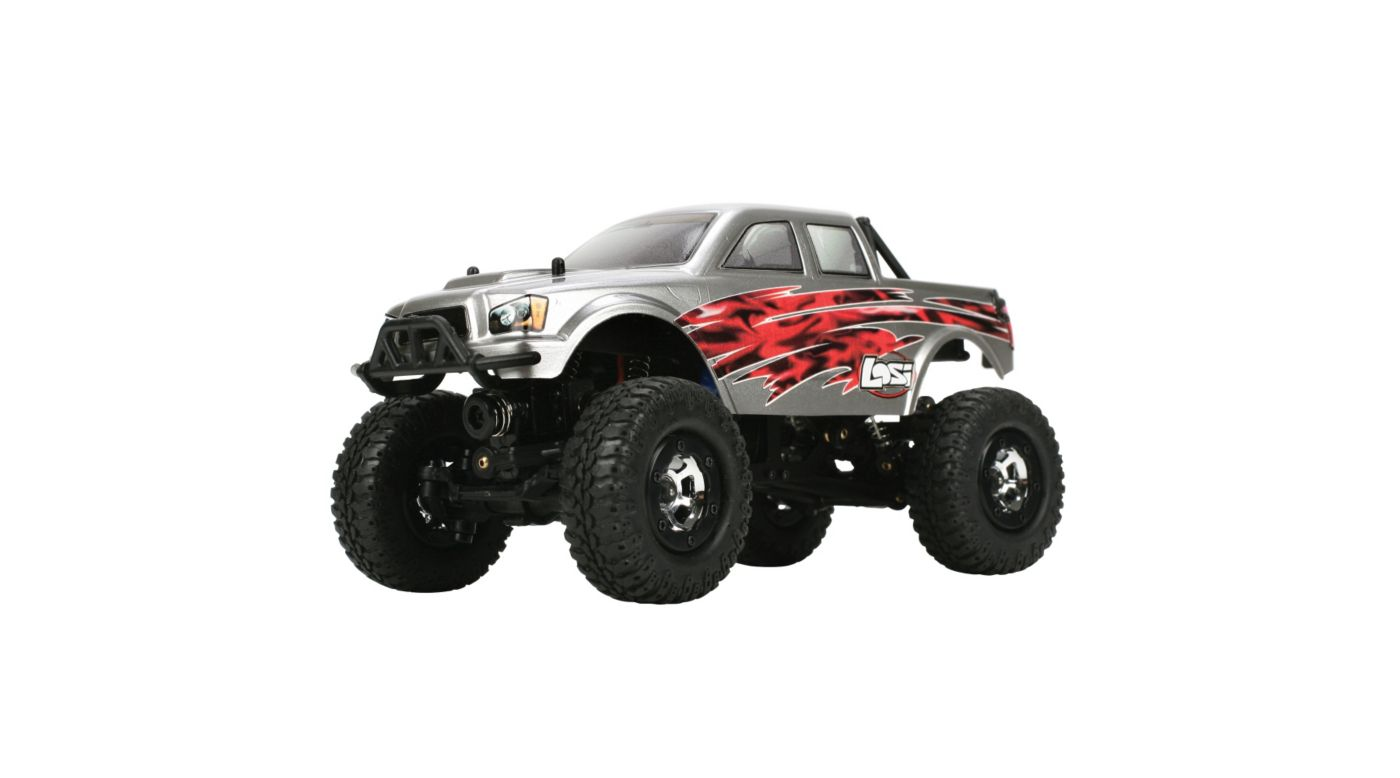 Image for 1/24 Micro 4X4 Trail Trekker RTR, Silver from HorizonHobby