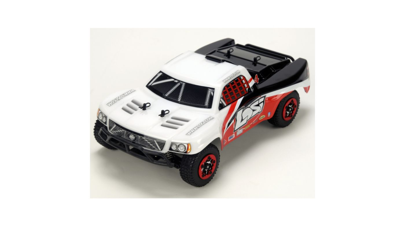 Image for 1/24 4WD Short Course Truck RTR White/Red/Black from HorizonHobby