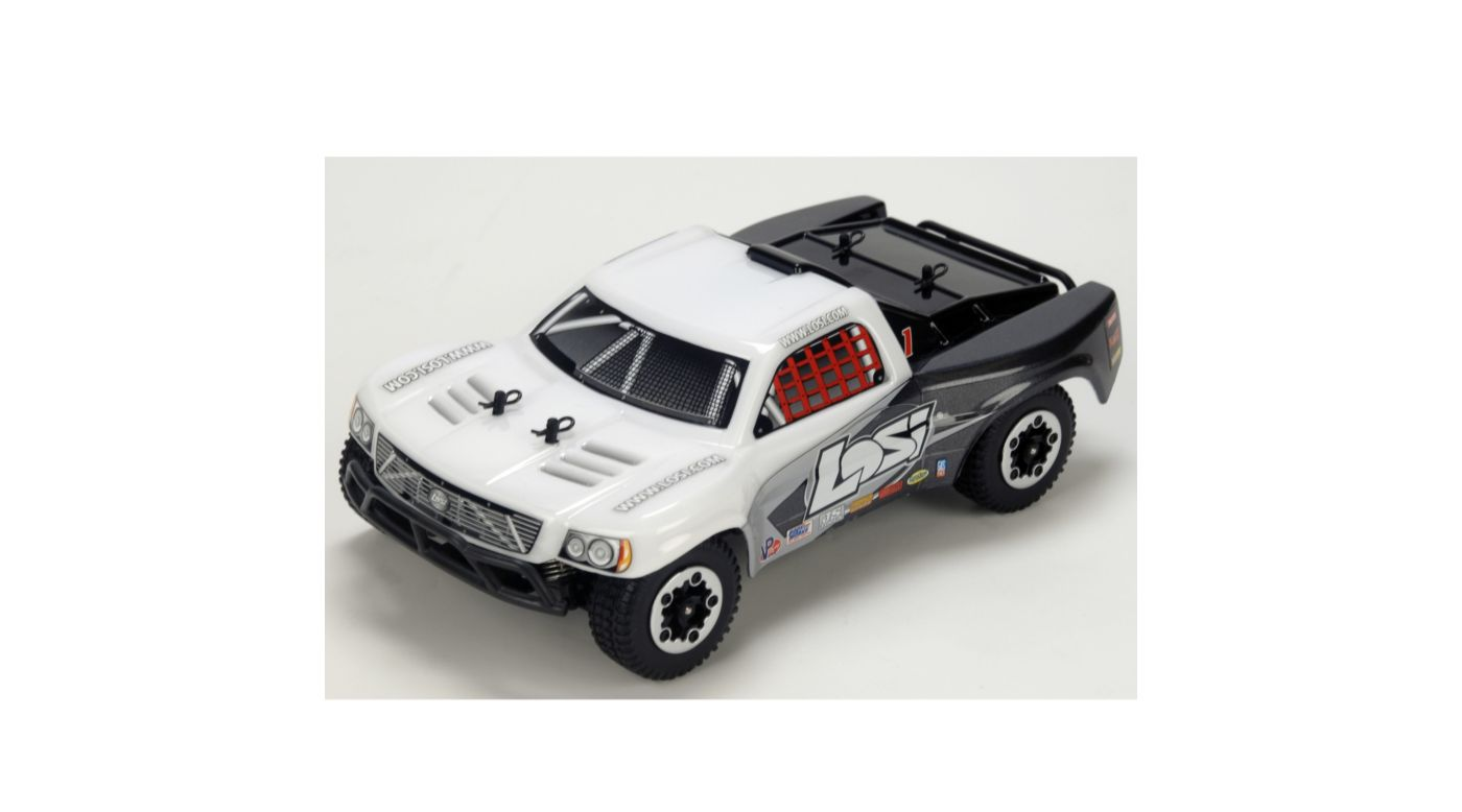Image for 1/24 4WD Short Course Truck RTR  White/Grey/Black from HorizonHobby