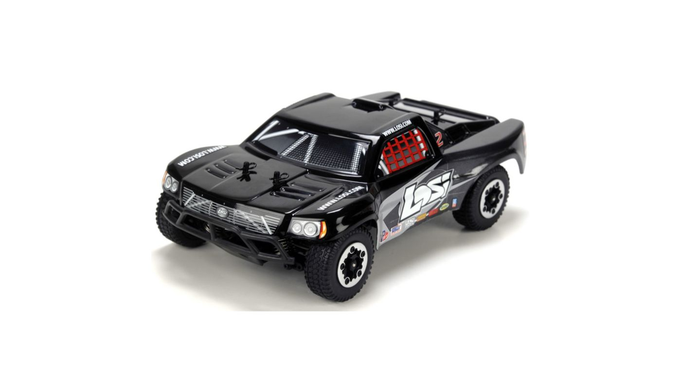 Image for 1/24 4WD Short Course Truck RTR  Black/Grey from HorizonHobby