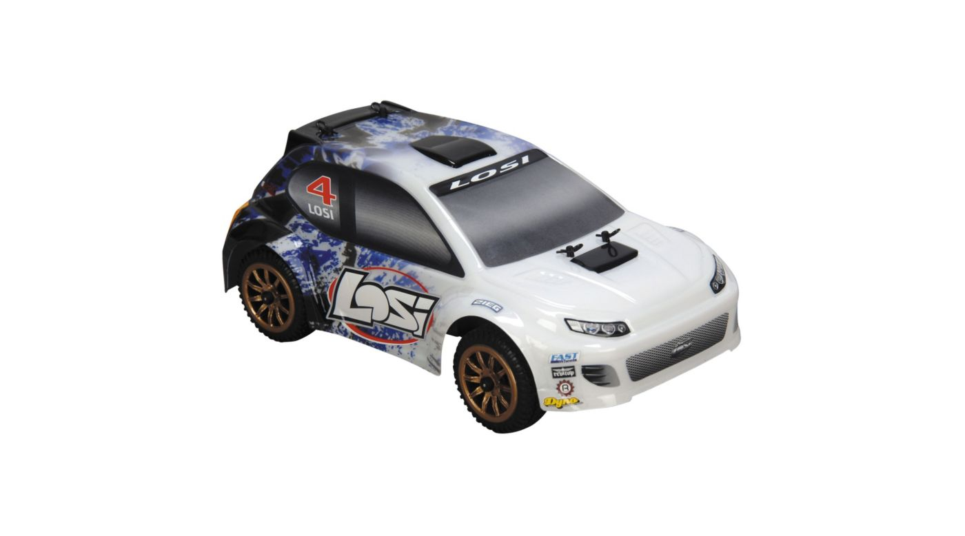 Image for 1/24 4WD Rally Car RTR  Blue Spatter from HorizonHobby