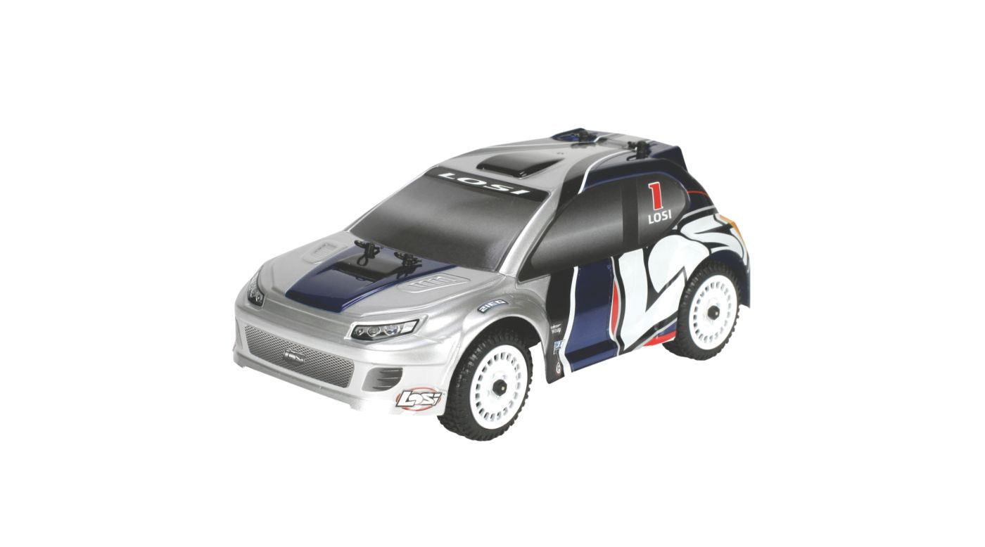 Image for 1/24 Micro Brushless Rally RTR Silver from HorizonHobby