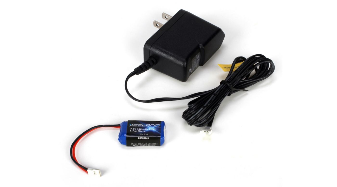 Image for LiPo Charger & Battery: Micro-T/B/DT from HorizonHobby