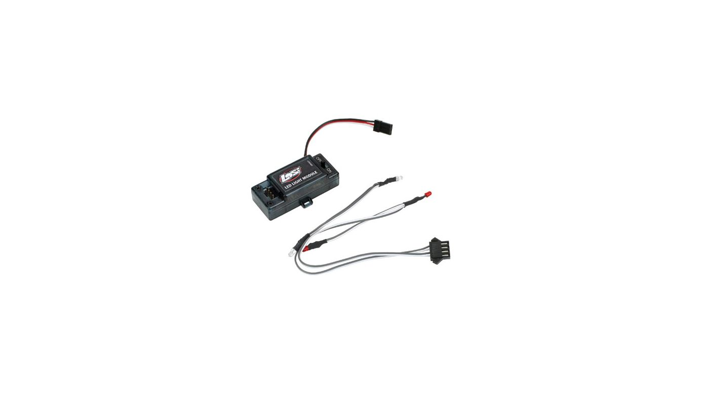 Image for Front/Rear LED Light Set & Module: Mini-DT from HorizonHobby