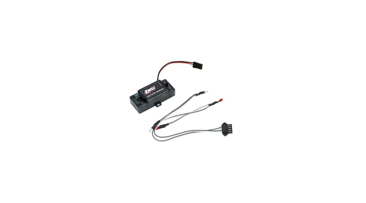 Image for Front/Rear LED Light Set & Module: Mini-DT from HorizonHobby