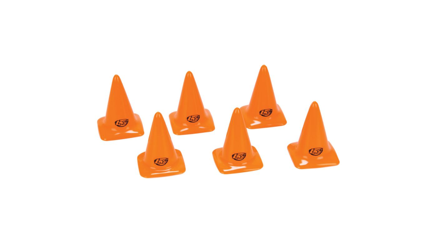 Image for Course/Track Cones, Orange 2.75