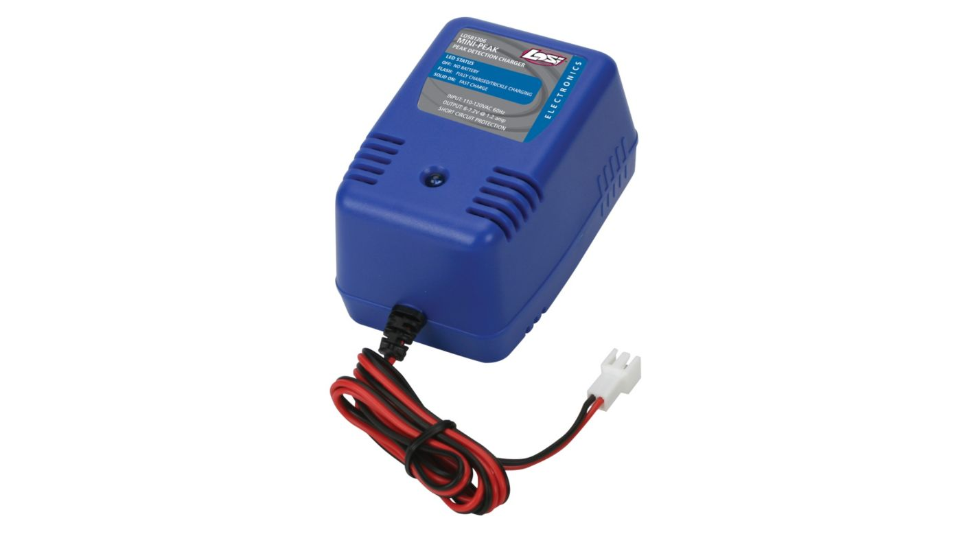 Image for Mini Peak AC Wall Charger: 1/18 vehicles from HorizonHobby
