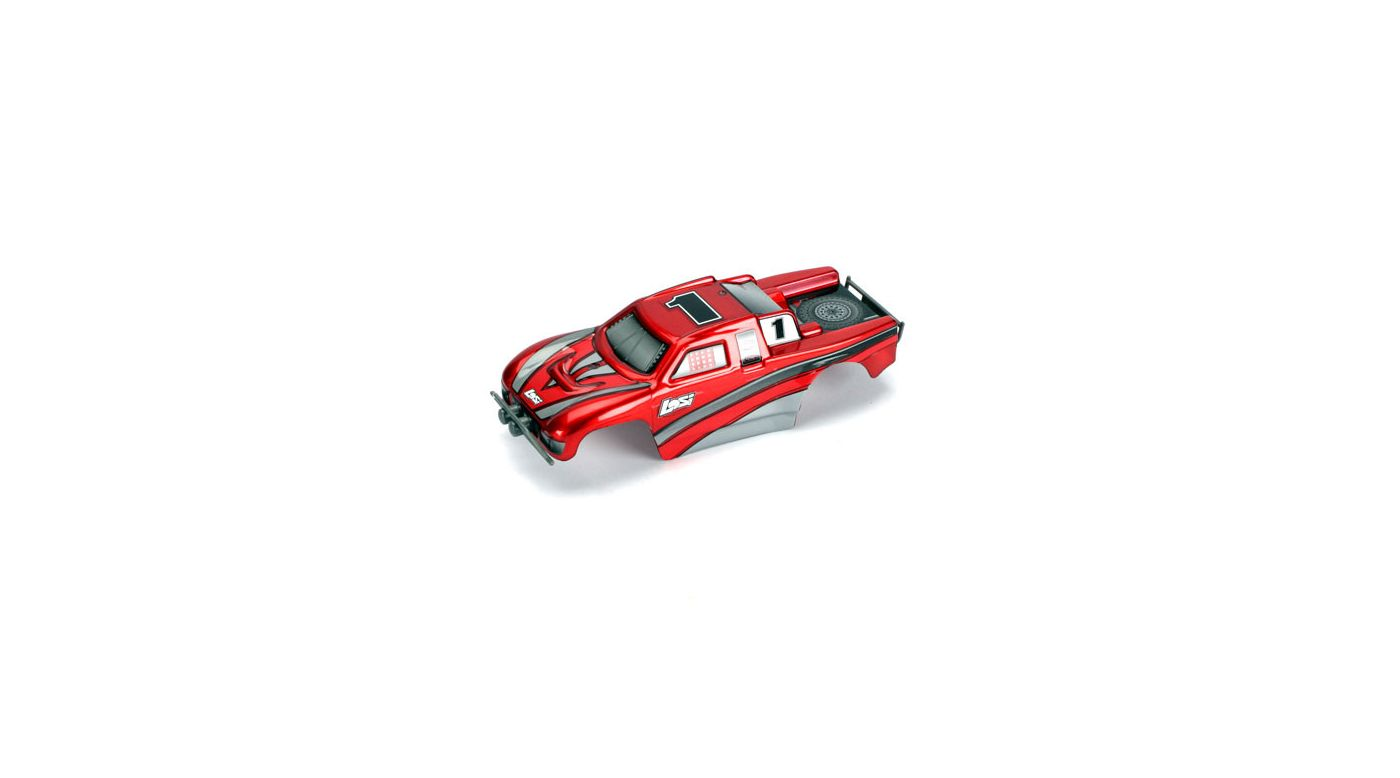 Image for Micro Desert Truck Painted Body Set, Candy Red from HorizonHobby