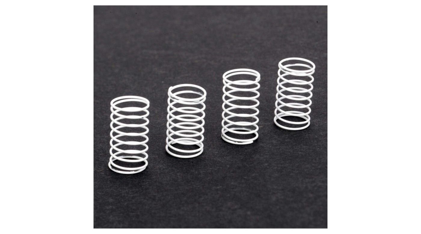 Image for Damper Spring, Soft (4): Micro SCT, Rally,Truggy from HorizonHobby
