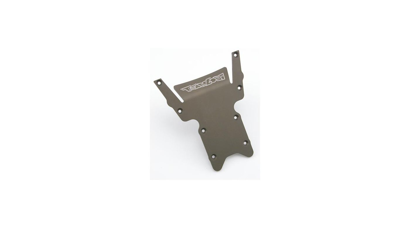 Image for HD Rear Bottom Plate, Hard Anodized: LST/2,AFT,MGB from HorizonHobby