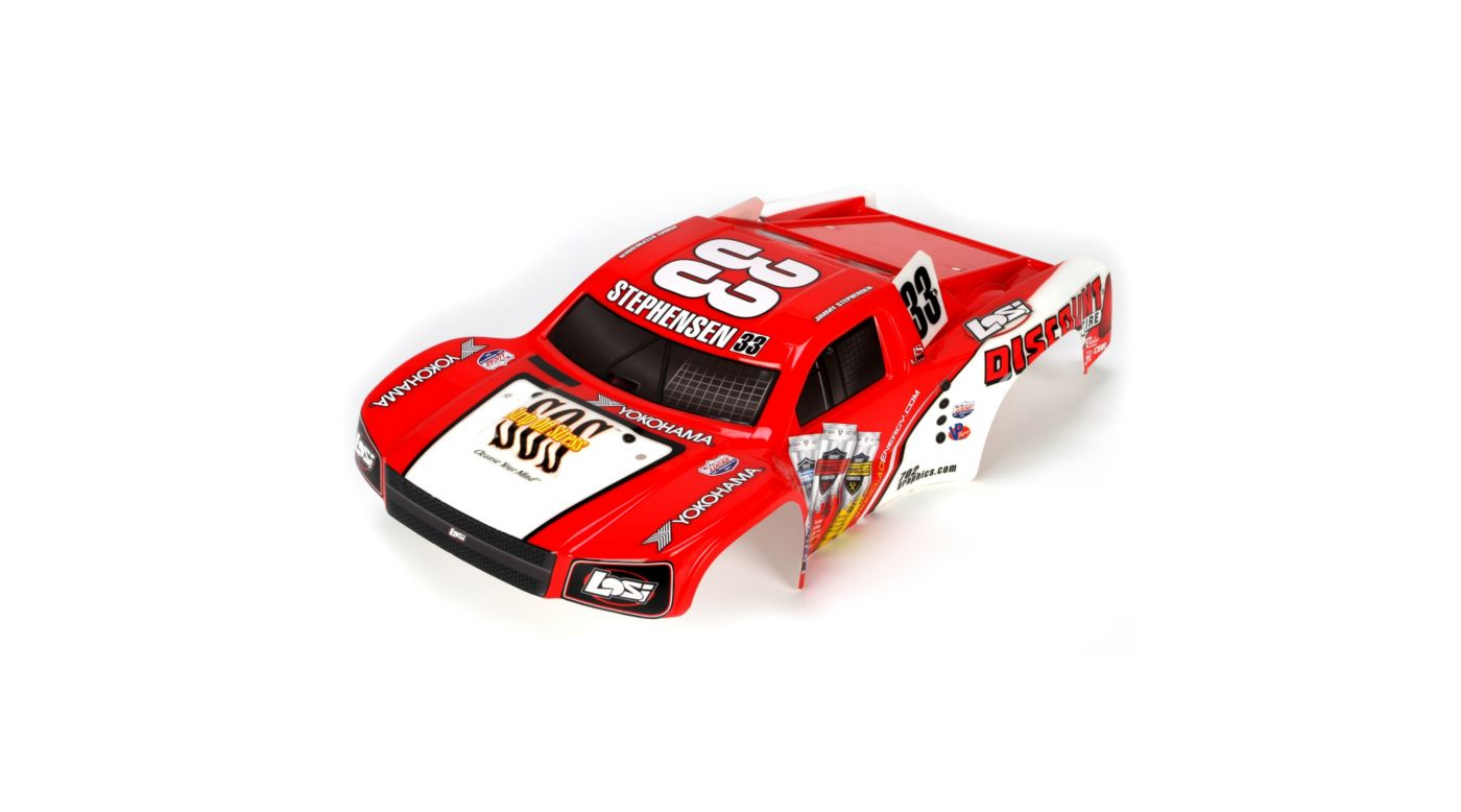 Image for TEN-SCTE Painted Body, #33 Stephensen Scheme from HorizonHobby