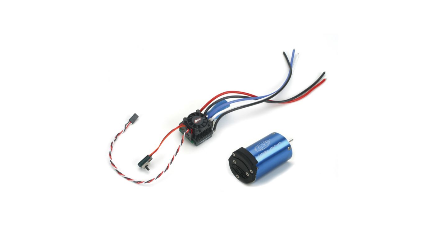 Image for 1/10 Xcelorin 6400Kv Brushless Combo from HorizonHobby