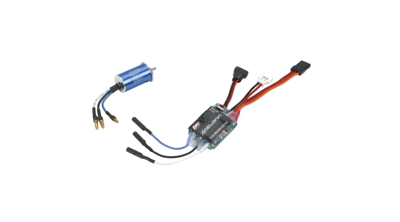 Image for 1/36 Xcelorin 8750Kv Brushless Combo from HorizonHobby