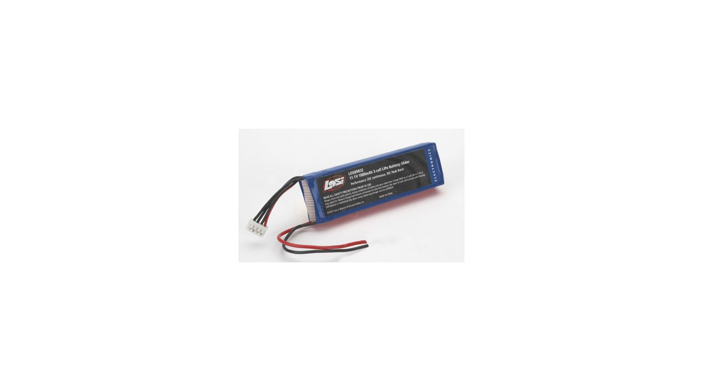 Image for 11.1V 1000mAh 3S 20C LiPo: MS, MLM, RC18 from HorizonHobby