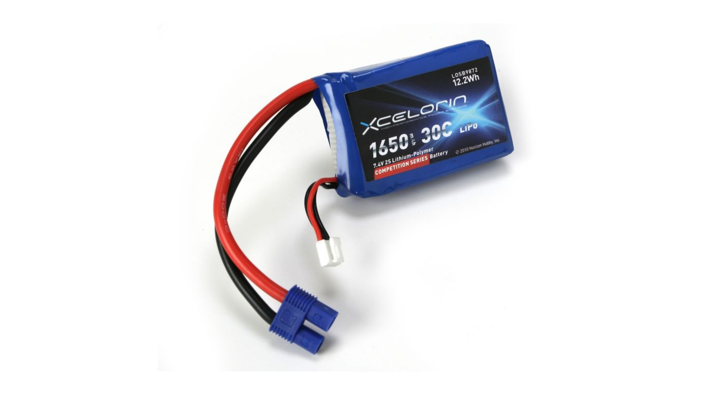 Image for 7.4V 1650mAh 2S 30C LiPo: Crawlers from HorizonHobby