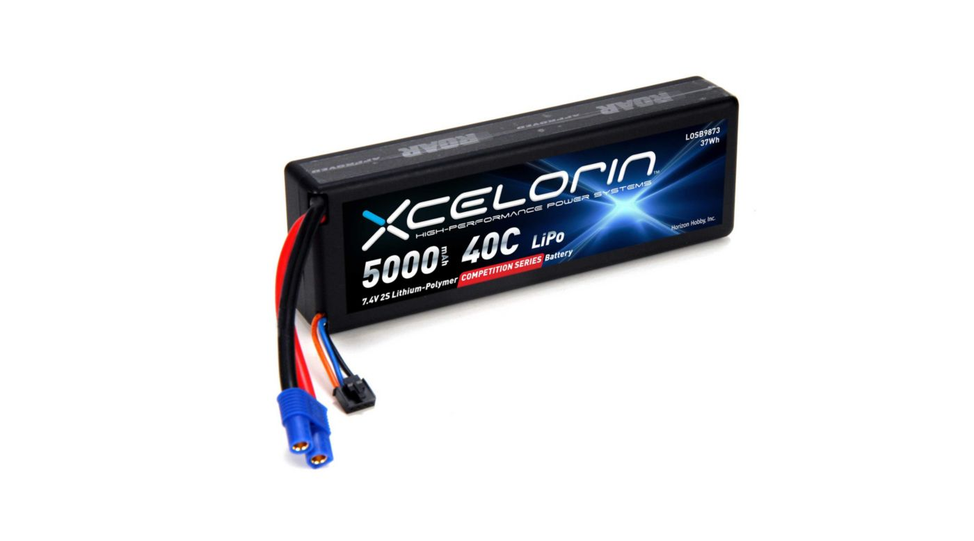 Image for 7.4V 5000mAh 2S 40C LiPo from HorizonHobby