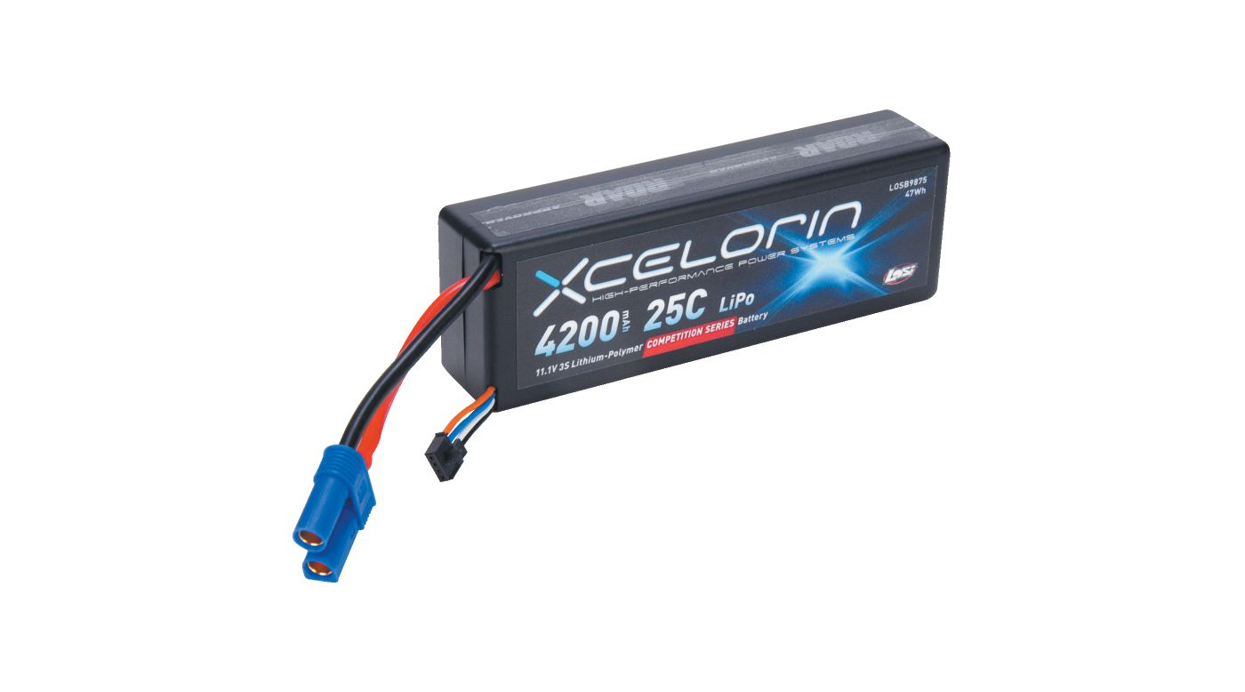 Image for 11.1V 4200mAh 3S 25C LiPo from HorizonHobby