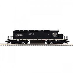 MTH 20211701 O EMD SD40-2 3-Rail w/ Proto-Sound 3.0 Premier Illinois Central 6250 507-20211701