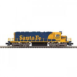 MTH Electric Trains MTH20211741 O-27 SD40-2 w/PS3, BNSF #6957 507-202
