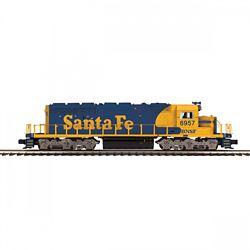 MTH20211741 MTH Electric Trains O-27 SD40-2 w/PS3, BNSF #6957 507-202