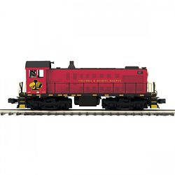 MTH20211771 MTH Electric Trains O-27 Alco S2 w/PS3, Columbia & Readin
