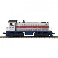 MTH20211791 MTH Electric Trains O-27 Alco S2 w/PS3, Amtrak #747 507-2