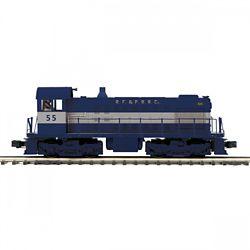 MTH20211811 MTH Electric Trains O-27 Alco S2 w/PS3, RPF&P #55 507-202