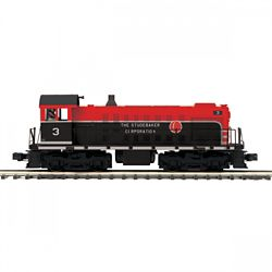 MTH20211831 MTH Electric Trains O-27 Alco S2 w/PS3, Studebaker #3 507