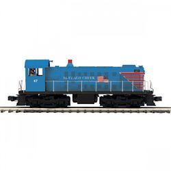 MTH20211851 MTH Electric Trains O-27 Alco S2 w/PS3, Buffalo Creek #47