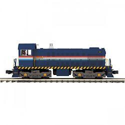 MTH20211861 MTH Electric Trains O-27 Alco S2 w/PS3, Staten Island Rai
