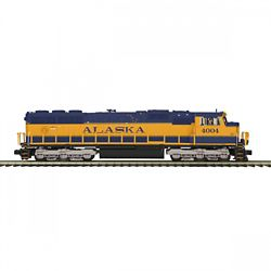 MTH 20-21196-1 EMD SD70MAC 3 Rail with Proto Sound 3.0 Premier Alaska Railroad 4004