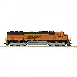 MTH20211971 MTH Electric Trains O SD70Mac w/Snd BNSF 9839 507-20211971